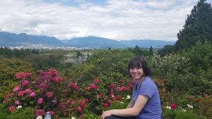 Tess in Queen Elizabeth park